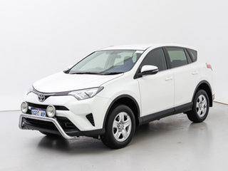 2016 Toyota RAV4 ZSA42R MY17 GX (2WD) White Continuous Variable Wagon.