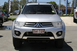 2013 Mitsubishi Challenger PC (KH) MY14 LS Silver 5 Speed Sports Automatic Wagon.