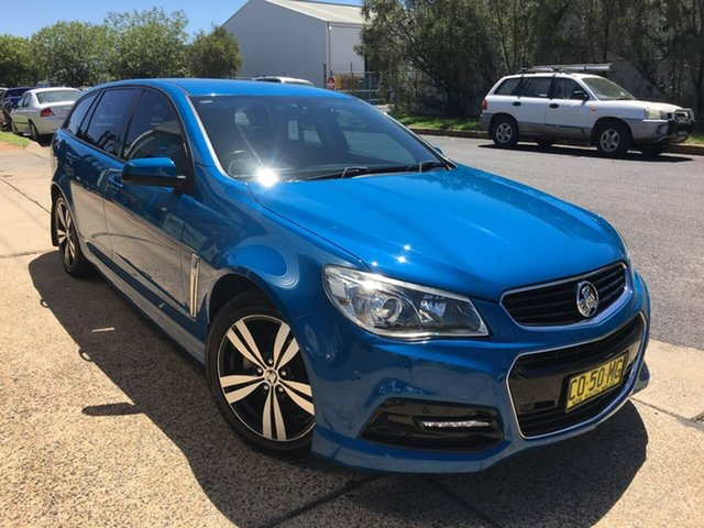 Used Holden Commodore VF SV6 Dubbo, 2013 Holden Commodore VF SV6 Blue Sports Automatic