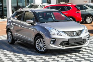 2020 Suzuki Baleno EW Series II GL Silver 4 Speed Automatic Hatchback.
