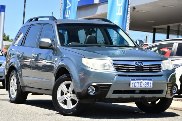 Used Subaru Forester S3 MY09 XS AWD Premium Melville, 2008 Subaru Forester S3 MY09 XS AWD Premium Sage Green 4 Speed Sports Automatic Wagon