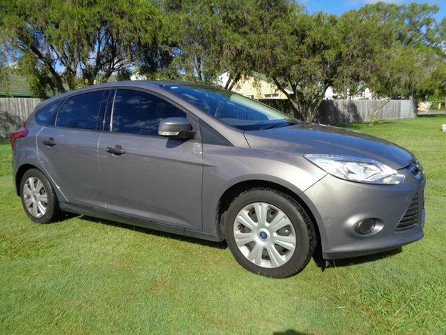 Used Ford Focus LW Ambiente Kippa-Ring, 2012 Ford Focus LW Ambiente Grey 5 Speed Manual Hatchback