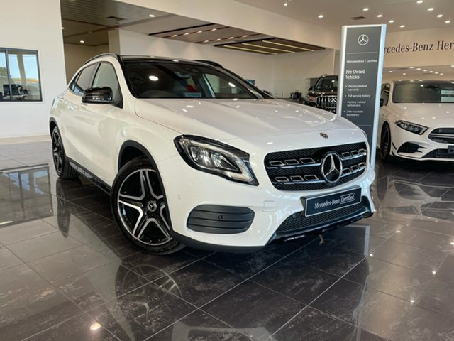 Used Mercedes-Benz GLA-Class X156 809+059MY GLA250 DCT 4MATIC Hervey Bay, 2019 Mercedes-Benz GLA-Class X156 809+059MY GLA250 DCT 4MATIC White 7 Speed