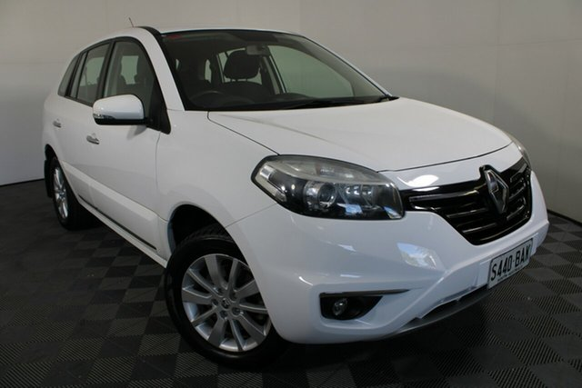 Used Renault Koleos H45 Phase III Expression Wayville, 2014 Renault Koleos H45 Phase III Expression White 1 Speed Constant Variable Wagon