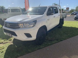 2015 Toyota Hilux KUN26R MY14 SR (4x4) 5 Speed Manual Dual Cab Chassis