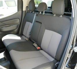2018 Mitsubishi Triton MQ MY18 GLX+ Double Cab Black 5 Speed Sports Automatic Utility