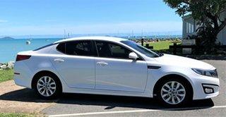 2014 Kia Optima TF MY14 SI White 6 Speed Automatic Sedan