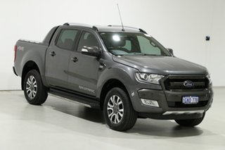 2017 Ford Ranger PX MkII MY17 Update Wildtrak 3.2 (4x4) Graphite 6 Speed Automatic Dual Cab Pick-up