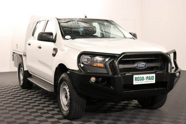Used Ford Ranger PX MkII XL Plus Acacia Ridge, 2016 Ford Ranger PX MkII XL Plus White 6 speed Automatic Cab Chassis
