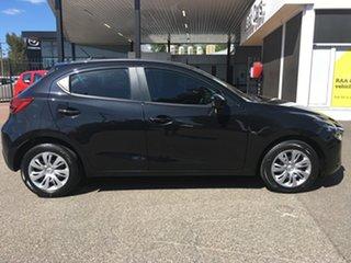 2015 Mazda 2 DJ2HA6 Neo SKYACTIV-MT Black 6 Speed Manual Hatchback.