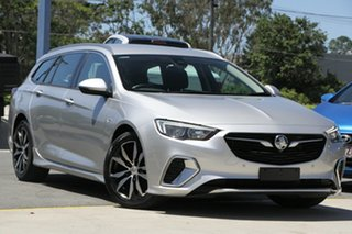 2018 Holden Commodore ZB MY18 RS Sportwagon Silver 9 Speed Sports Automatic Wagon.