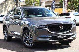 2019 Mazda CX-5 KF4W2A Akera SKYACTIV-Drive i-ACTIV AWD Machine Grey 6 Speed Sports Automatic Wagon.