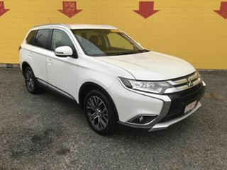 2016 Mitsubishi Outlander ZK MY16 XLS 4WD White 6 Speed Sports Automatic Wagon.