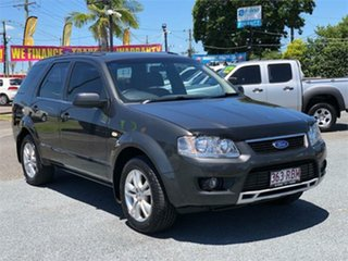 2010 Ford Territory SY MkII TS Black 4 Speed Sports Automatic Wagon.