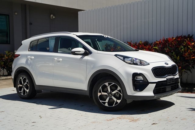 Used Kia Sportage QL MY18 Si 2WD Cairns, 2018 Kia Sportage QL MY18 Si 2WD White 6 Speed Sports Automatic Wagon