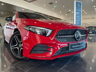 2019 Mercedes-Benz A-Class V177 A200 DCT Red/Black 7 Speed Sports Automatic Dual Clutch Sedan.