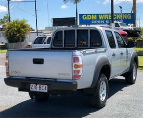 2009 Mazda BT-50 UNY0E4 DX Silver 5 Speed Automatic Utility