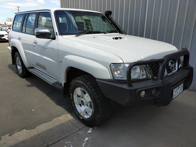 Used Nissan Patrol Y61 GU 8 ST Horsham, 2012 Nissan Patrol Y61 GU 8 ST 5 Speed Manual Wagon