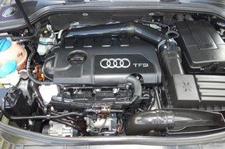 2011 Audi A3 8P MY12 Ambition Sportback S Tronic Black 7 Speed Sports Automatic Dual Clutch