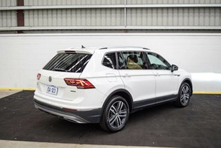 2018 Volkswagen Tiguan 5N MY18 162TSI Highline DSG 4MOTION Allspace White 7 Speed