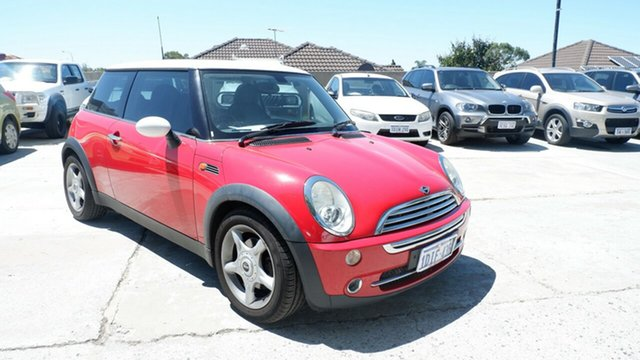 Used Mini Hatch R50 MY05 Cooper St James, 2006 Mini Hatch R50 MY05 Cooper Red 6 Speed Constant Variable Hatchback