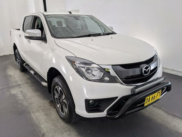 Used Mazda BT-50 UR0YG1 GT Maryville, 2017 Mazda BT-50 UR0YG1 GT White 6 Speed Sports Automatic Utility