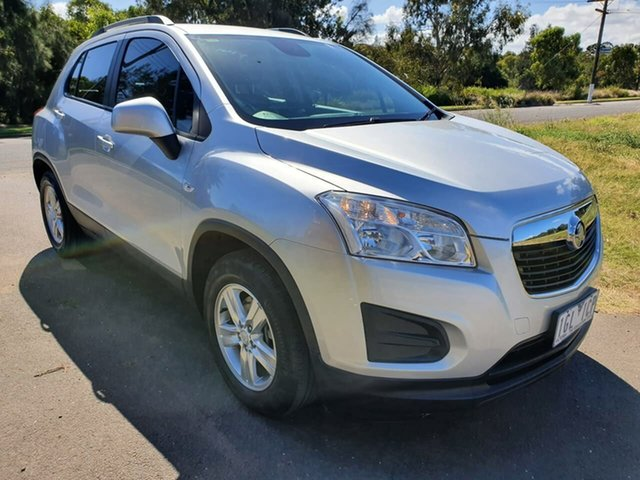 Used Holden Trax TJ LS Geelong, 2015 Holden Trax TJ LS Silver Automatic Wagon