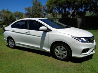 2017 Honda City GM MY18 VTi White 1 Speed Constant Variable Sedan