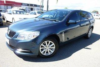 2013 Holden Commodore VF MY14 Evoke Sportwagon Blue 6 Speed Sports Automatic Wagon.