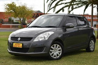 2010 Suzuki Swift RS415 Grey 5 Speed Manual Hatchback.