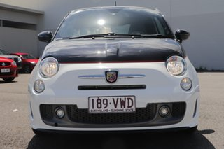 2014 Abarth 595 Series 3 Turismo Dualogic White 5 Speed Sports Automatic Single Clutch Hatchback.