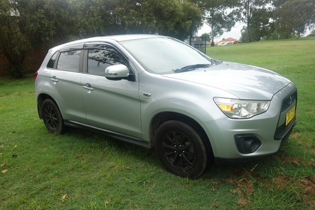 Used Mitsubishi ASX XA MY12 Platinum 2WD East Maitland, 2012 Mitsubishi ASX XA MY12 Platinum 2WD Silver 5 Speed Manual Wagon