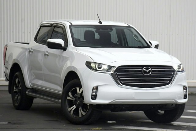 New Mazda BT-50 TFS40J XTR Newstead, 2020 Mazda BT-50 TFS40J XTR Ice White 6 Speed Manual Utility