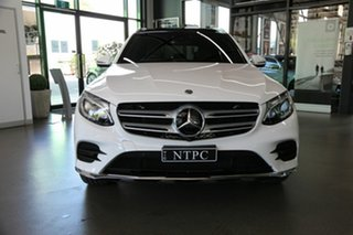 2018 Mercedes-Benz GLC-Class X253 809MY GLC250 9G-Tronic 4MATIC White 9 Speed Sports Automatic Wagon