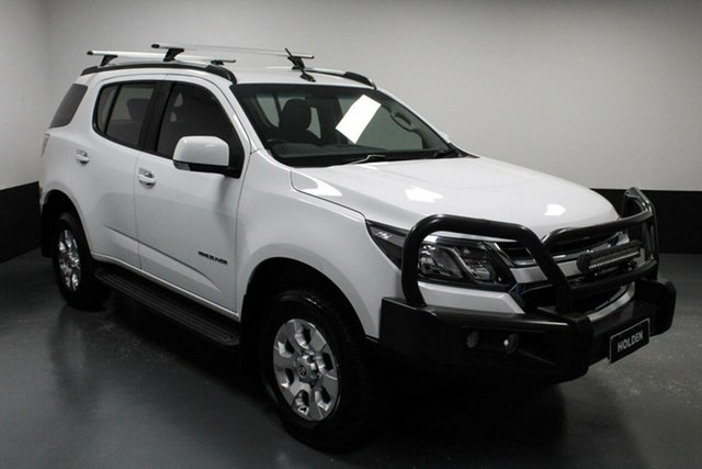 Used Holden Trailblazer RG MY18 LT Cardiff, 2018 Holden Trailblazer RG MY18 LT White 6 Speed Sports Automatic Wagon