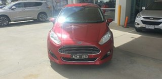 2014 Ford Fiesta WZ Sport PwrShift Red 6 Speed Sports Automatic Dual Clutch Hatchback