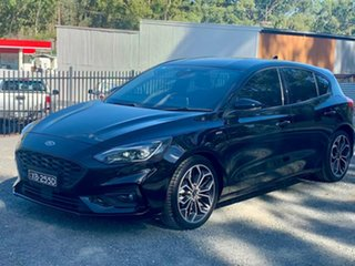 2018 Ford Focus SA 2019MY ST-Line Black 8 Speed Automatic Hatchback
