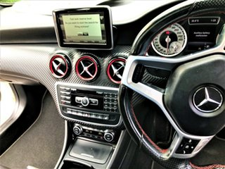 2014 Mercedes-Benz A-Class W176 A250 D-CT Sport White 7 Speed Sports Automatic Dual Clutch Hatchback