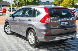 2015 Honda CR-V RM Series II MY16 VTi 4WD Grey 5 Speed Sports Automatic Wagon.