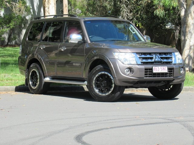 Used Mitsubishi Pajero NW MY12 Platinum, 2012 Mitsubishi Pajero NW MY12 Platinum Brown 5 Speed Sports Automatic Wagon