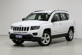 2016 Jeep Compass MK MY16 Sport (4x2) White 6 Speed Automatic Wagon.