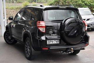 2009 Toyota RAV4 ACA33R MY09 Cruiser Black 4 Speed Automatic Wagon.