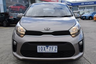 2019 Kia Picanto JA MY19 S Silver 4 Speed Automatic Hatchback