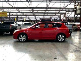 2005 Mazda 3 BK10F1 Maxx Sport Red 4 Speed Sports Automatic Hatchback