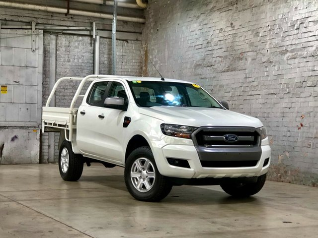 Used Ford Ranger PX MkII XLS Double Cab Mile End South, 2015 Ford Ranger PX MkII XLS Double Cab White 6 Speed Manual Utility