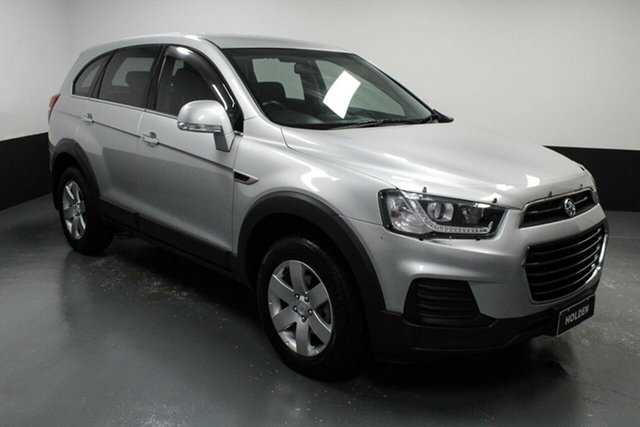 Used Holden Captiva CG MY16 LS 2WD Hamilton, 2016 Holden Captiva CG MY16 LS 2WD Silver 6 Speed Sports Automatic Wagon