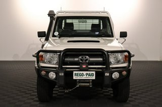 2016 Toyota Landcruiser VDJ79R GXL French Vanilla 5 speed Manual Cab Chassis.