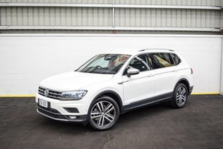 2018 Volkswagen Tiguan 5N MY18 162TSI Highline DSG 4MOTION Allspace White 7 Speed.