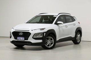 2018 Hyundai Kona OS.2 MY19 Active (FWD) White 6 Speed Automatic Wagon.