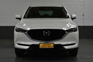 2017 Mazda CX-5 KF4W2A Maxx SKYACTIV-Drive i-ACTIV AWD Sport White 6 Speed Sports Automatic Wagon.